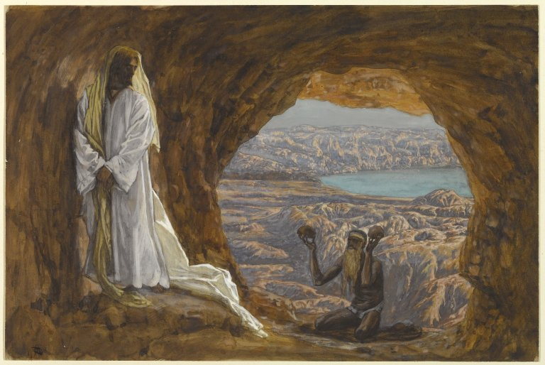 Jesus Tempted in the Wilderness, James Tissot c. 1886