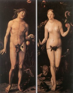 Adam and Eve, Lucas Cranach the Elder, 1472-1553