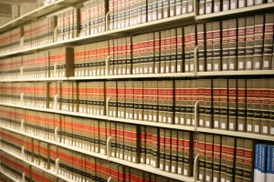 Atlantic Reporter case law books for only 10 states, up to 999 volumes in 2010.