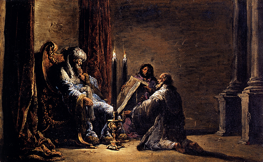 Bramer_Leonaert_The_Scribe_Shaphan_Reading_The_Book_Of_Law_To_King_Josiah