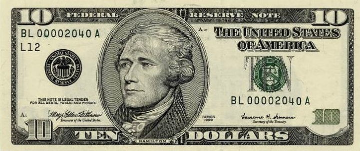 federal-reserve-note-10-USD-united-states-dollar-alexander-hamilton-b