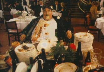 Mr. Creosote, Monty Python's The Meaning of Life
