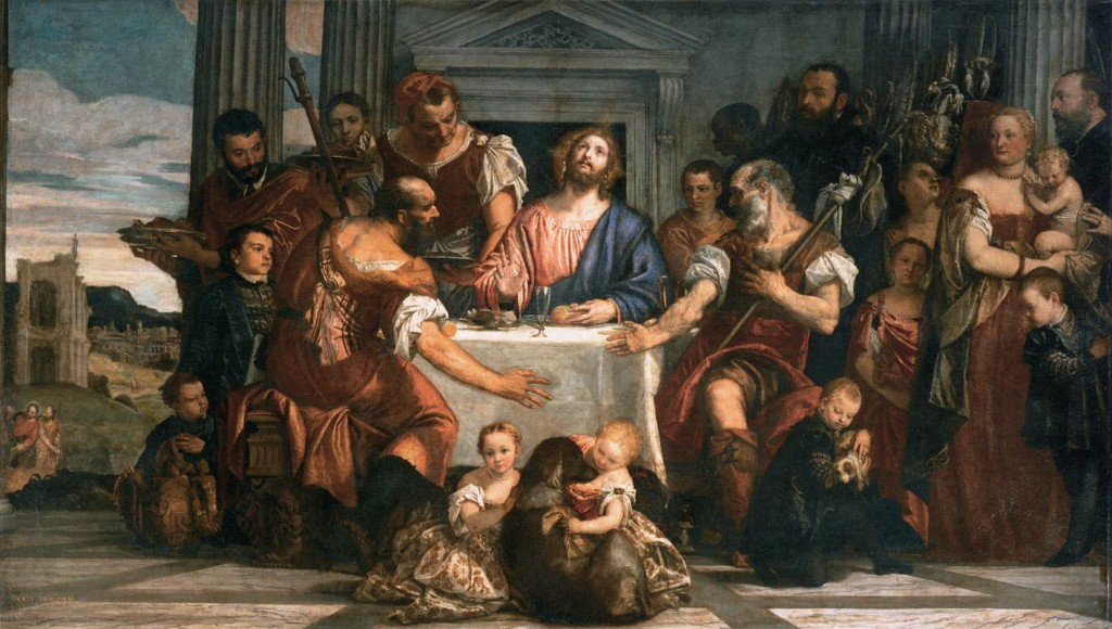 Supper in Emmaus. Paolo Veronese. c.1559
