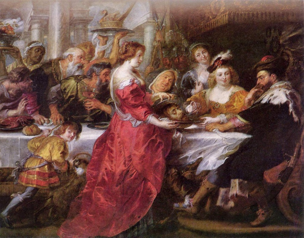 The Feast of Herod, Peter Paul Rubens, c.1635